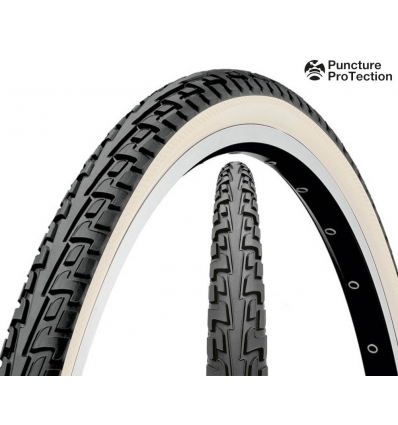 Anvelopa 28'' Wired Continental Ride Tour alb 700 x 37c - 622 x 37